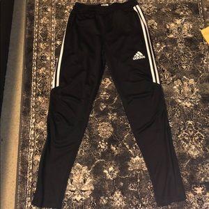 Black Adidas Climacool Tiro 17 pants.